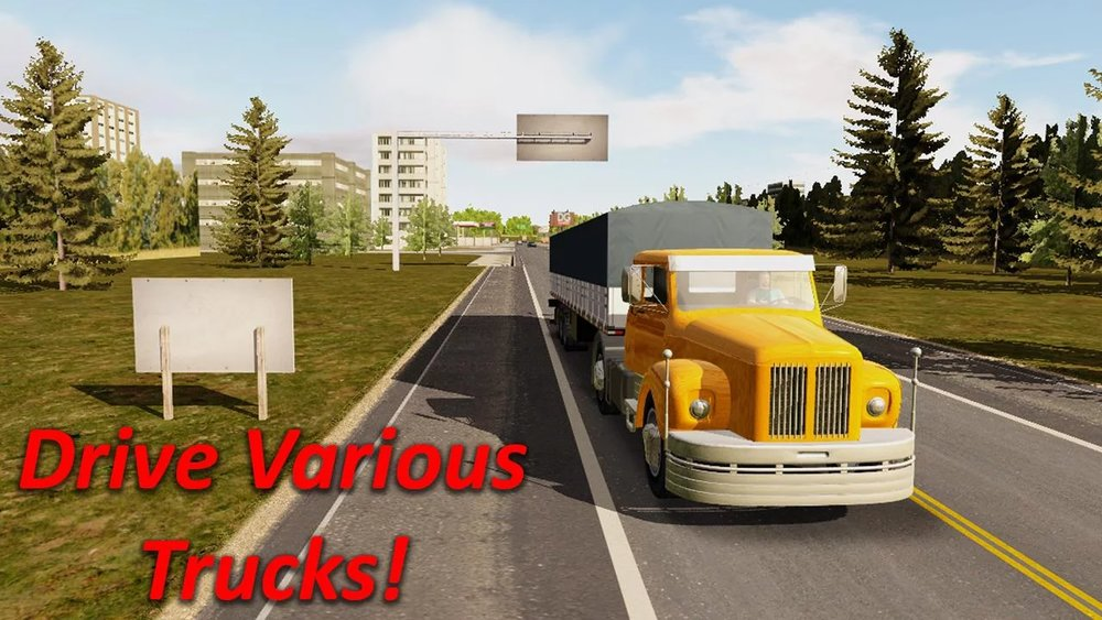 Скриншот Heavy Truck Simulator для Android