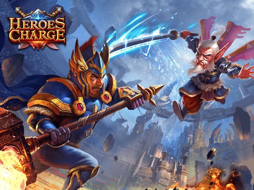 Скриншот Heroes Charge для Android