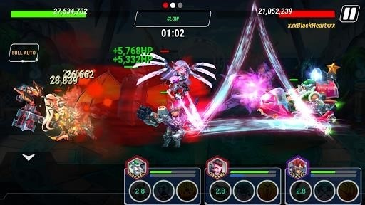 Скриншот Heroes Infinity: God Warriors для Android