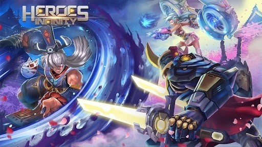 Скриншот Heroes Infinity: God Warriors для Android