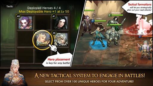 Скриншот Heroes of Atlan для Android