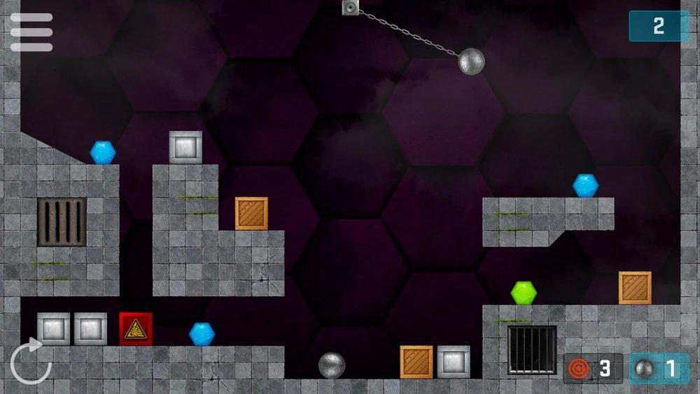 Скриншот Hexasmash для Android