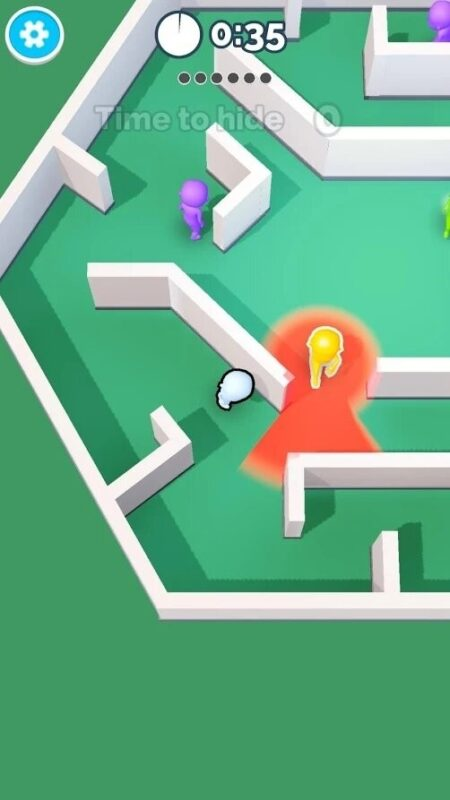 Скриншот Hide N Seek для Android