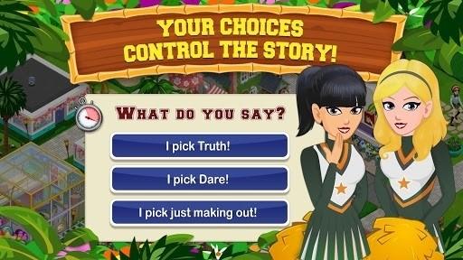 Скриншот High School Story для Android