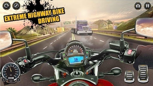 Скриншот Highway bike escape 2016 для Android