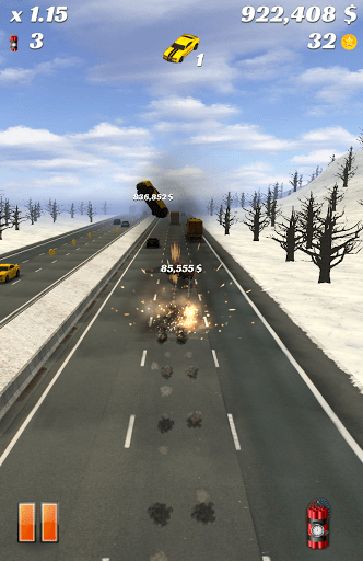 Скриншот Highway Crash Derby для Android