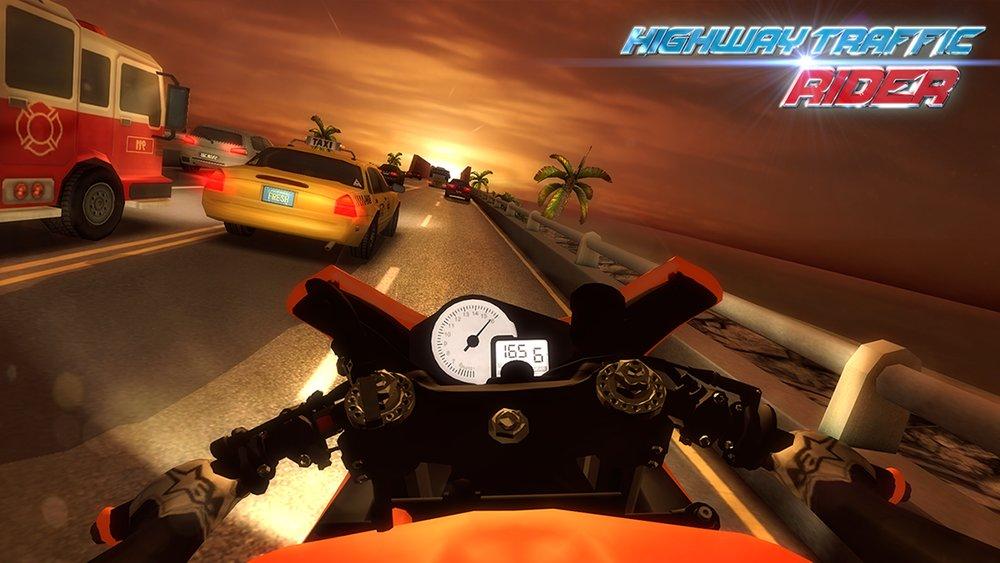 Скриншот Highway Traffic Rider для Android