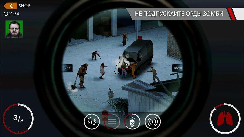 Скриншот Hitman: Sniper для Android
