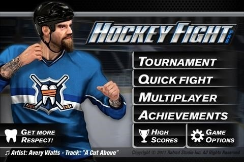 Скриншот Hockey Fight для Android