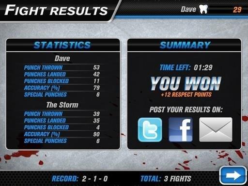 Скриншот Hockey Fight для Android