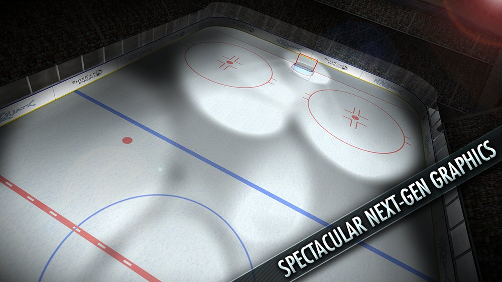 Скриншот Hockey Showdown для Android