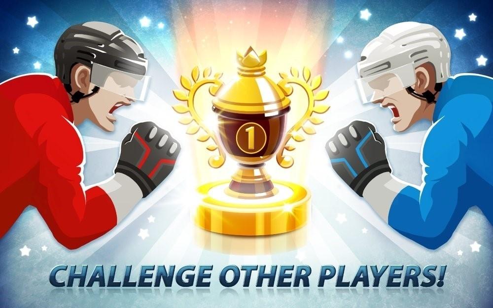 Скриншот Hockey Stars для Android