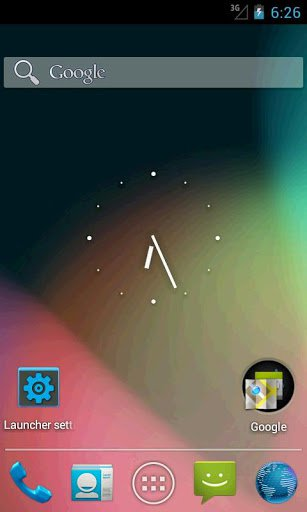 Скриншот Holo Launcher HD для Android