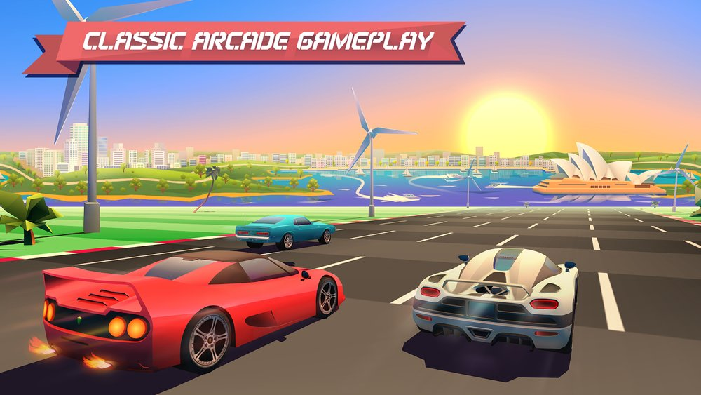 Скриншот Horizon Chase — World Tour для Android