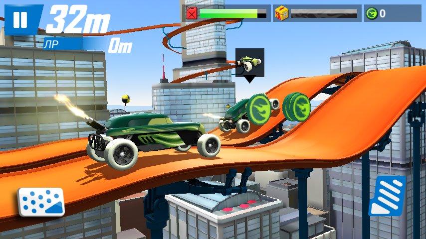 Скриншот Hot Wheels: Race Off для Android
