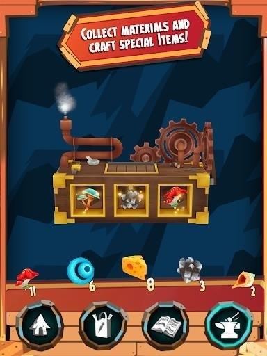 Скриншот Hugo Troll Race для Android