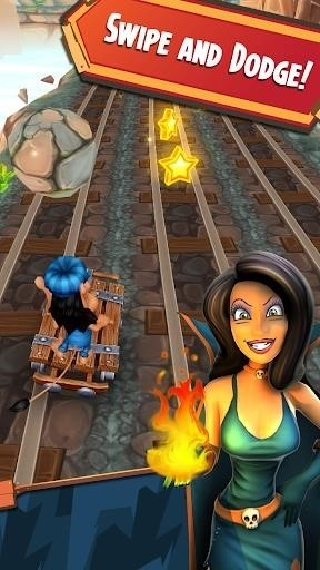 Скриншот Hugo Troll Race для Android