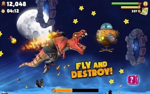 Скриншот Hungry Dragon для Android