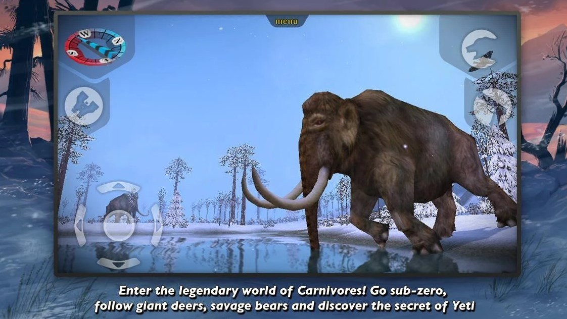 Скриншот Carnivores Ice Age для Android