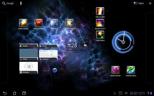 Скриншот Ice Galaxy для Android