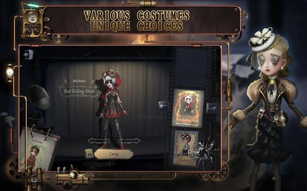 Скриншот Identity V для Android