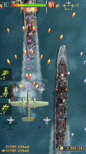 Скриншот iFighter 2: The Pacific 1942 для Android