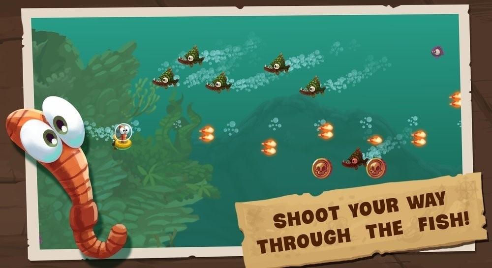 Скриншот I Hate Fish для Android