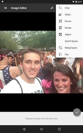 Скриншот Image Editor для Android