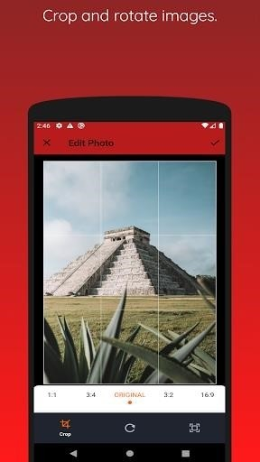 Скриншот Image to PDF Converter для Android