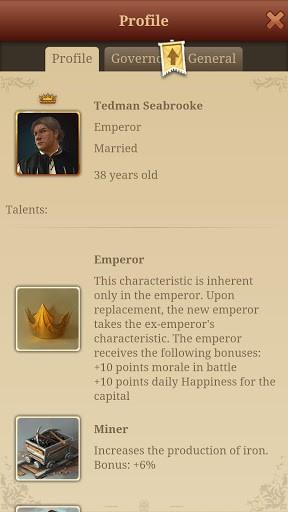 Скриншот Imperia Online Стратегия для Android