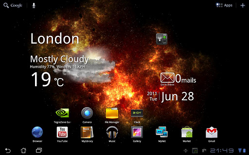 Скриншот Inferno Galaxy для Android