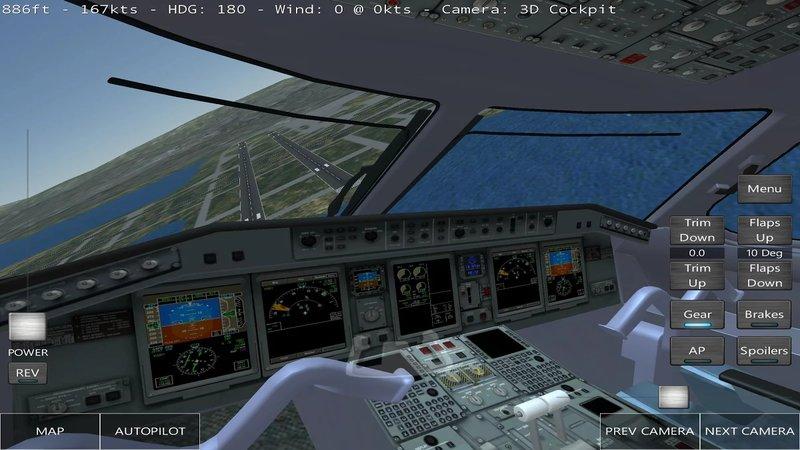 Скриншот Infinite Flight для Android
