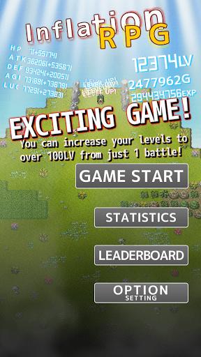 Скриншот Inflation RPG для Android
