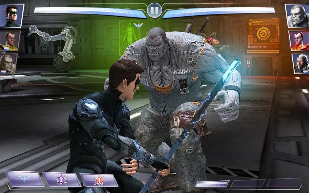 Скриншот Injustice: Gods Among Us для Android
