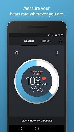 Скриншот Instant Heart Rate для Android