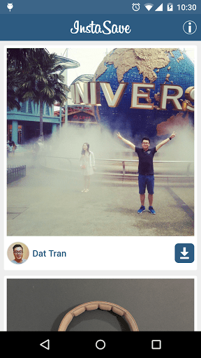 Скриншот InstaSave - Скачать Instagram для Android