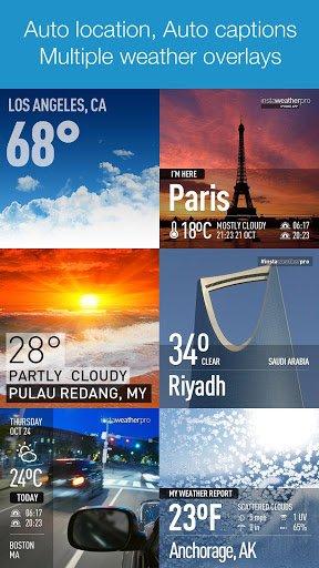 Скриншот InstaWeather для Android