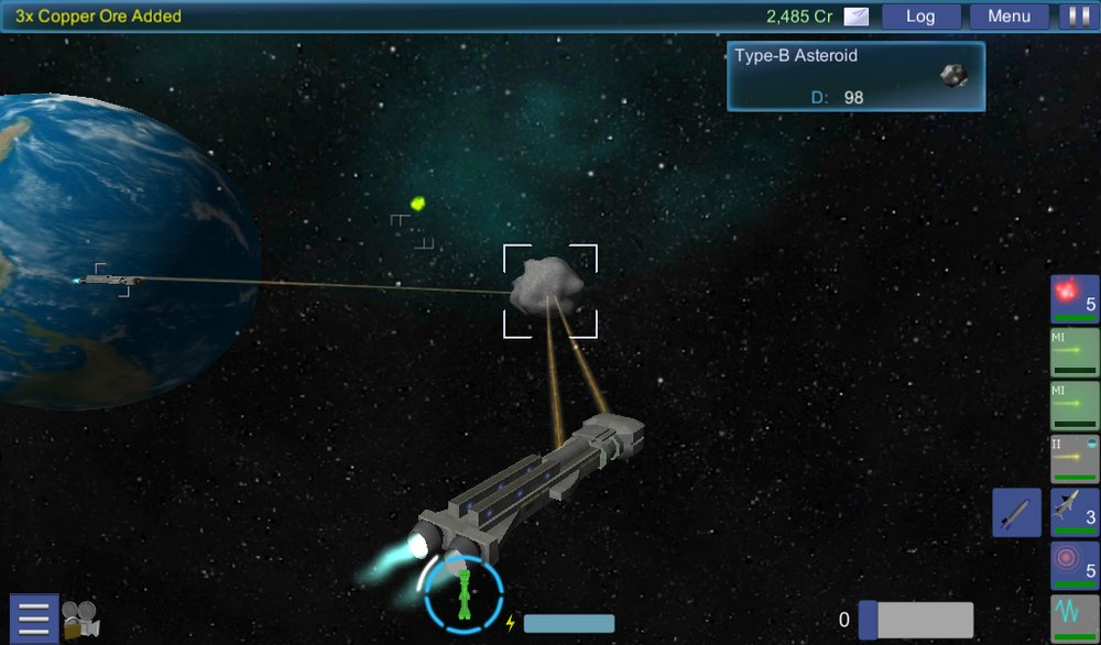 Скриншот Interstellar Pilot для Android