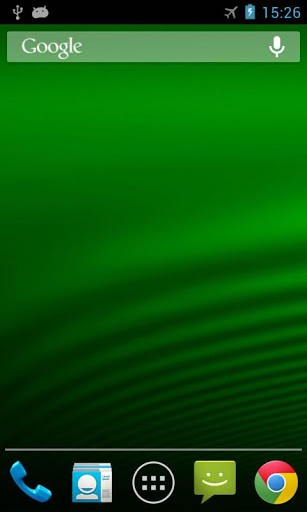 Скриншот iPhone 5 волна живые обои / iPhone 5 Wave LWP для Android