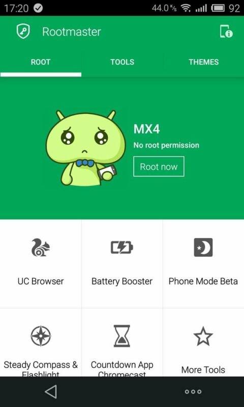 Скриншот iRoot для Android