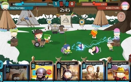 Скриншот Южный Парк: Разрушитель Мобил для Android