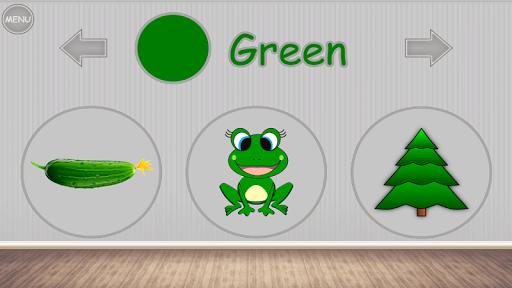 Скриншот Изучаем цвета — игра для детей для Android