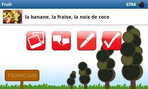 Скриншот Изучай французский язык! для Android