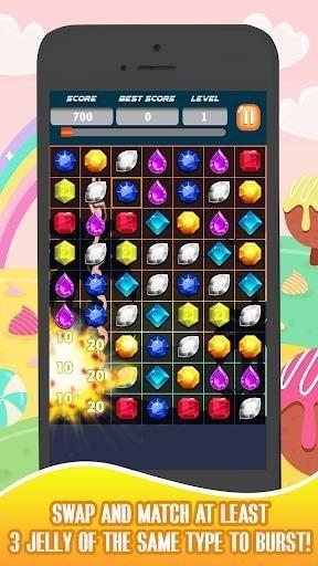 Скриншот Jelly Blast для Android