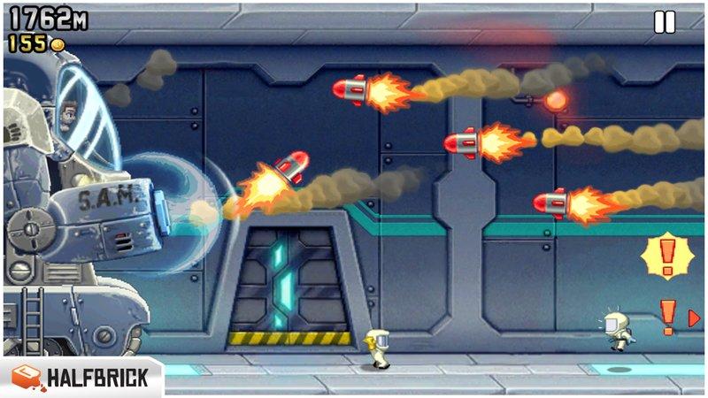 Скриншот Jetpack Joyride для Android