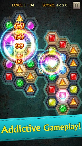 Скриншот Jewels Legend для Android