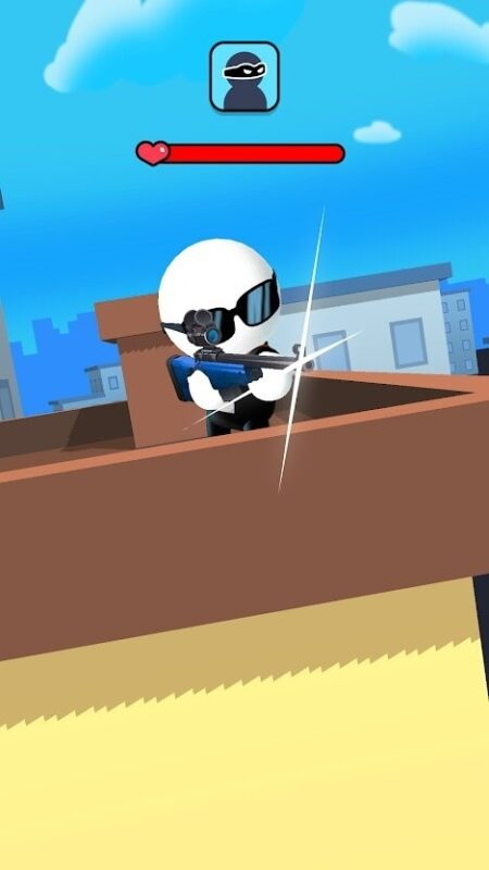 Скриншот Johnny Trigger: Sniper для Android