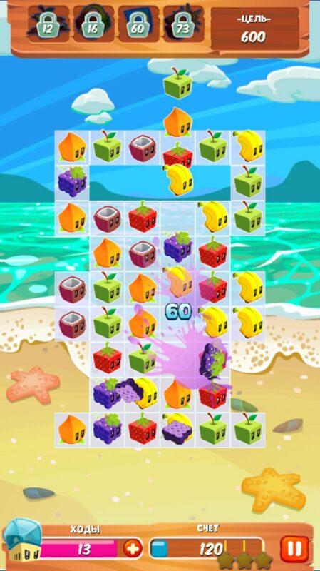Скриншот Juice Cubes для Android
