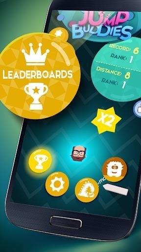 Скриншот Jump Buddies для Android