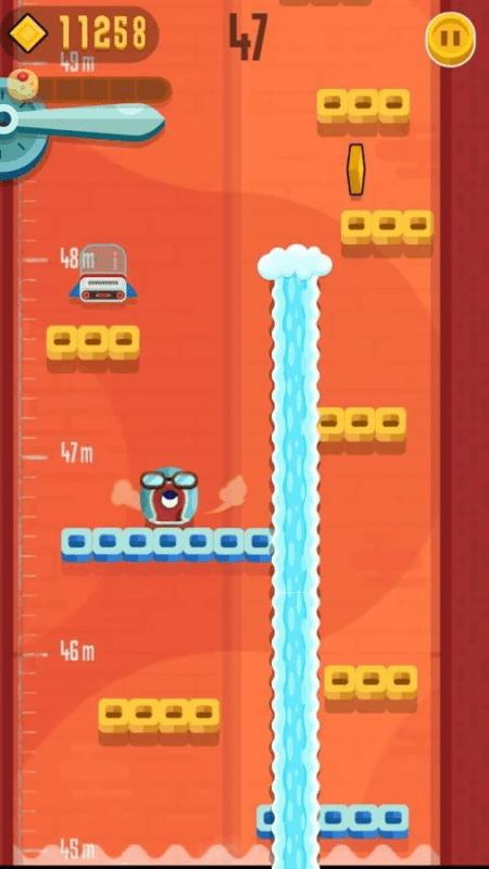 Скриншот Jumping Cube HD для Android